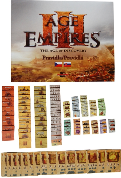 Age of Empires III - obsah hry - karty