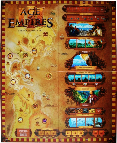 Age of Empires III - detail mapy