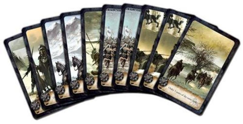 Battles of Westeros - karty