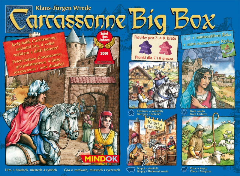 Carcassonne: Big Box 2014
