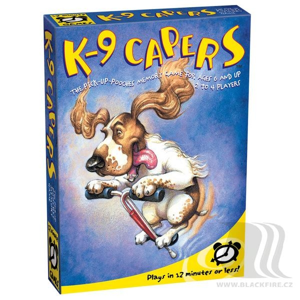 12 Minute Games: K-9 Capers™ - krabice