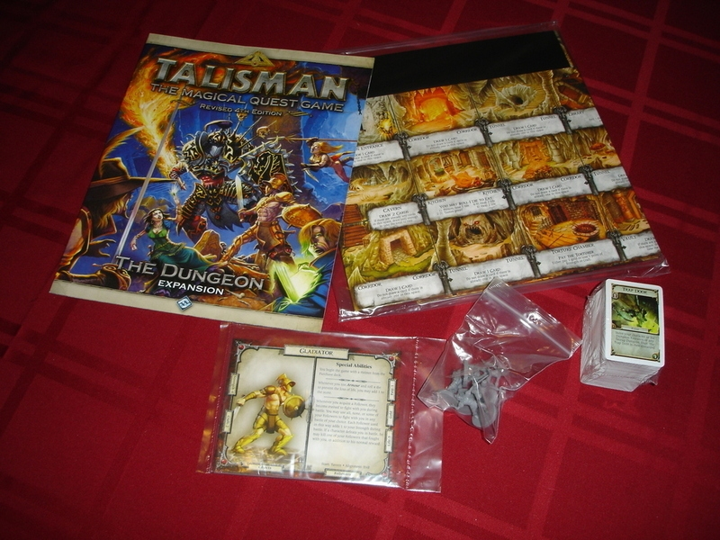 Talisman: The Dungeon Expansion - obsah hry