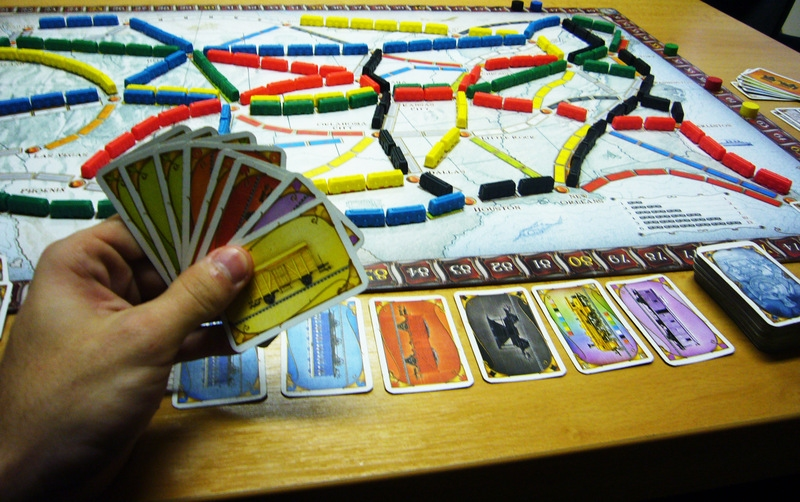 Ticket to Ride - karty