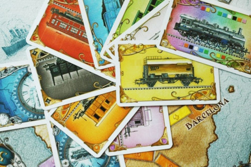 Ticket to Ride - EUROPE - karty