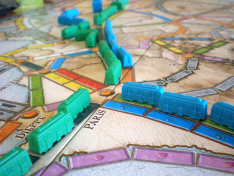 Ticket to Ride - EUROPE - detail hry