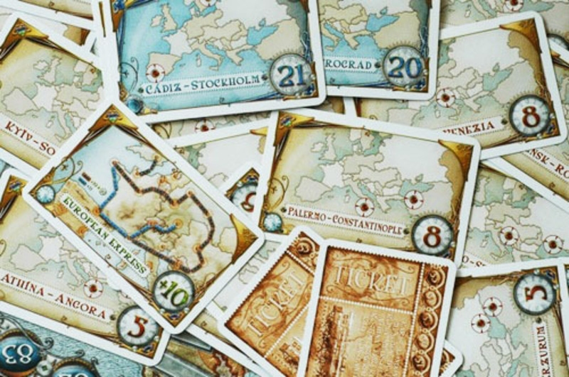 Ticket to Ride - EUROPE - karty 2