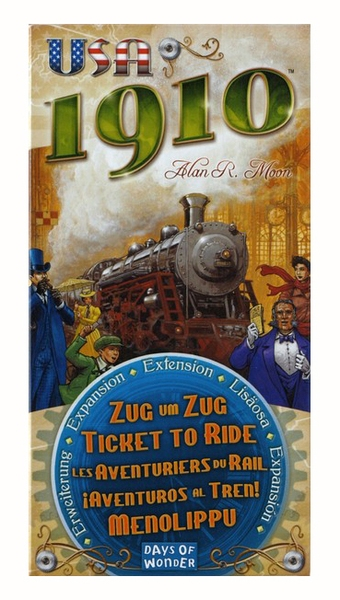 Ticket to Ride - USA 1910 expansion